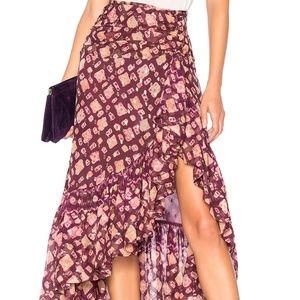 Ulla Johnson Alie Midi Skirt NWT XS Retail $675.00